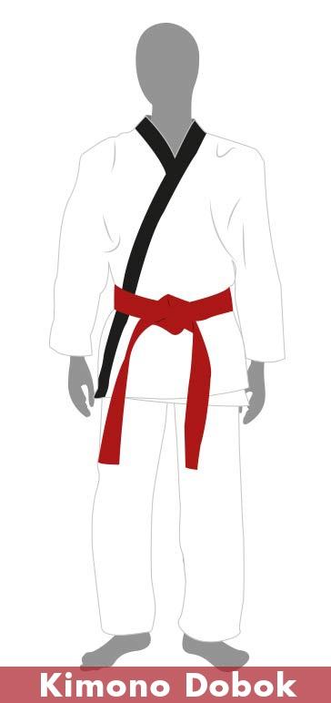 Equipación Taekwondo